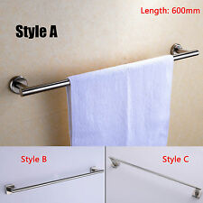 High Grade Bathroom 304 Stainless Steel Towel Rail Rack, Brushed Nickel
