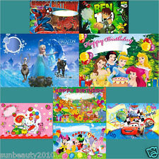 1pc Happy Birthday Posters Scene Setter Party Wallpaper Colorful & Festive Party