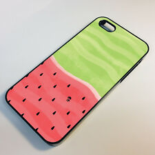 Watermelon Fruit Pattern Tropical Design Juice Hot Gift iPhone Phone Case Cover
