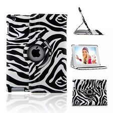 For iPad 2 3 4/Air/Air 2 360 Rotating PU Leather Smart Case Cover Magnetic Stand