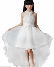 Flower Girls Formal Dress Princess Pageant Wedding Bridesmaid Christening Prom