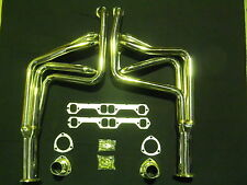 HOLDEN HQ HJ HX HZ WB / MONARO CHEV ENGINE STAINLESS STEEL EXTRACTORS  HEADERS