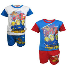 Fireman Sam PJs Pyjamas set - 2-6 years - new with tags 100% cotton