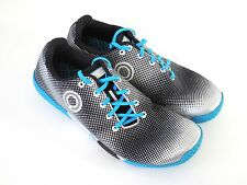 Skora Men's Fit Black/Silver/Cyan Minimalist Running Shoes PREOWNED