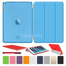 New Slim Leather Smart Stand Magnetic Case Cover For APPLE iPad Air 4 3 2 Mini