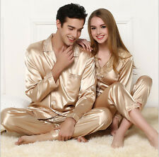 Soft Lovers Pajamas Nightgown Sleepwear top+pants comfortable Silk Home Pajamas
