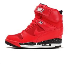 NIKE AIR REVOLUTION SKY HI ACTION RED 599410 600