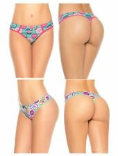 Laura Women's Prints Teen Thong Super Comfortable Everyday Panty Colombian