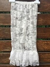 Girls Kids Baby Toddlers White Lace Petti Ruffle Dance Tights Pants 0-5years