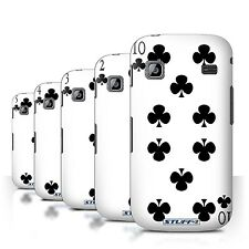 STUFF4 Back Case/Cover/Skin for Samsung Galaxy Gio/S5660/Playing Cards