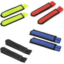 1 Pair BMX Bike Double Velcro Pedal Toe Foot Safety Straps 4 Colors