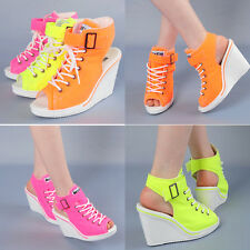 Comfort Wedges Trainers Heels Sneakers Platform High Top Ankles 777 Sandle Shoes