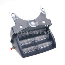 18 LED with Suction Cup Flashing Strobe Light Windshield Light Signal Lamp