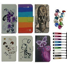 For LG /NOKIA case Wallet Card luxury PU leather cartoon cute Cover + free gift