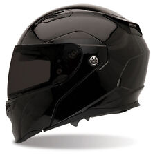 Bell Revolver Evo Gloss Black Modular Flip Up Motorcycle Helmet
