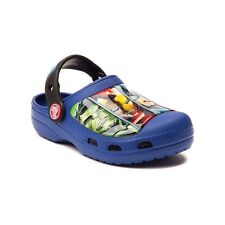 NEW Toddler Youth Crocs Avengers Clog Sandal Blue Marvel Iron Man Hulk Boys Girl