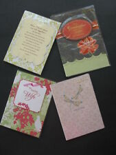NEW ! CHOOSE ONE - GREETING CARDS- HANDMADE BY DESIGNER GREETINGS