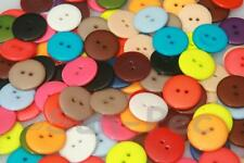 Standard Round Button large 20mm/23mm Resin 2 holes sewing scrapbooking crafts