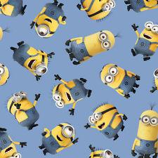 Quilting Treasures Minions 100% cotton Fabric Sold by the Yard