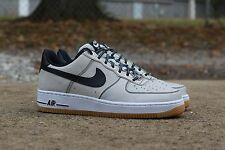Nike Air Force 1 One Low Top QS Sneakers New, Pure Platinum / Gum 488298-068