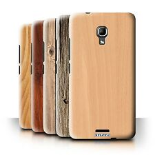 STUFF4 Back Case/Cover/Skin for Huawei Ascend Mate2 4G/Wood Grain Effect/Pattern