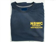 Navy SEAL BUD/S NSWC UDT/ SEAL INSTRUCTOR HELL WEEK BLUE SHIRT S,M,L,XL,XXL