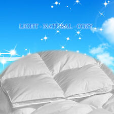 260TC 550 Loft White Down   Comforter