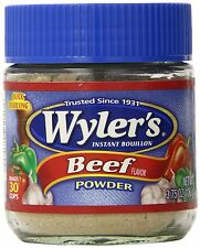 Wyler's Instant Bouillon Powder/Granules (Select the Flavor) 3.75 Ounce Jars
