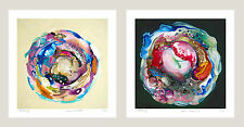 Amanda Krantz - COSMIC COMPOST SERIES - 2 prints each 27cmx27cm IKEA frame ready