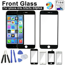 Replacement Front Glass Touch Screen Digitizer Assembly for iPhone 4 4s 5 5s 6
