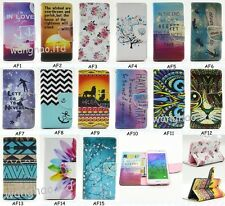 Pretty Lovely Printed Book Design Flip PU Leather Case Cover For Samsung Galaxy