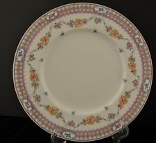 10 Mintons Hand Painted / Enameled Dinner Plate's Floral Rose Swags