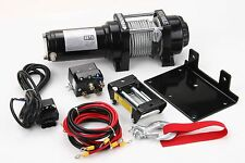 Winch 4000 Lb Electric 12V ATV Towing Truck Trailer Boat Pound 2 Ton New