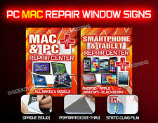 PC MAC Smartphone repair business retail signs iOS Android Blackberry Windows