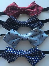 NEW Boys Kids Children Party Pre-tied Wedding Dance Silk bow tie Necktie bowtie