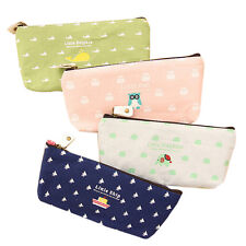 Student Creative Pen Pencil Case Cosmetic Makeup Bags Stationery Back To School