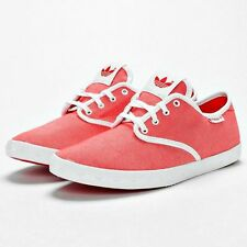 Adidas Originals Womens Adria PS W Vivid Red Pink Trainers Shoes Free Post
