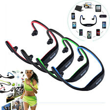 Bluetooth Wireless Headset Stereo Headphone Earbuds Sport Gym Handfree Universal
