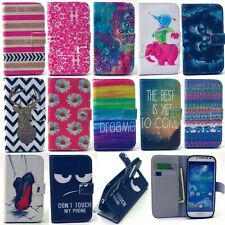 New Hot Sale Flip Wallet Card Slot PU Leather Stand Case Cover For Mobile Phones
