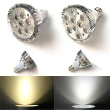PAR20 PAR30 PAR38 E27 9W 7x2W 15x2W LED Spot Light Supper Power White Lamp Bulb
