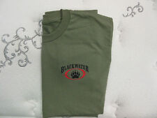 Blackwater Olive Drab Subdued Private Military Security Contractor Shirt S,M,L