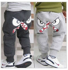Boys Pants Trousers Cartoon Hips Cotton Leggings Kids Clothes 3-7Y Lovely  Cool