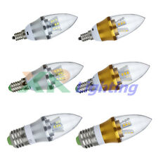 10x Dimmable 6W 10W E27 E14 E12 LED High Power Chandelier Candle Light Bulb Lamp