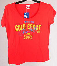 Official AFL Gold Coast Suns Ladies Supporter Tee