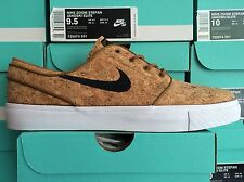 Nike SB Stefan Janoski Elite Cork Ale Brown/White/Black 725074-201 sizes 5-13