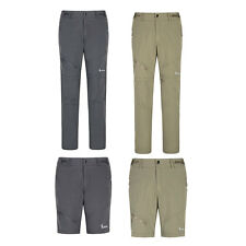 New Mens Outdoor Sports Quick Dry Pants Zip off Leg Hiking Trousers Removable
