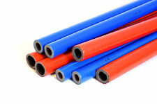 3 x 2m Strong Pipe Insulation Foam Length Coated Polyethylene Lagging Wrap 6m