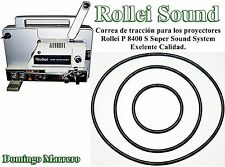 Drive Belt Super 8 Film Projector for Rollei P 8400 S Super Sound System
