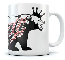 California Bear Coffee Mug - Cali Life Cool Tea Cup Novelty Gift Idea Sturdy Mug