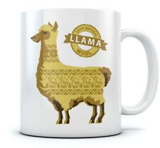 100% Natural llama Wool Funny Coffee Mug Novelty Gift Idea Tea Cup Ceramic Mug